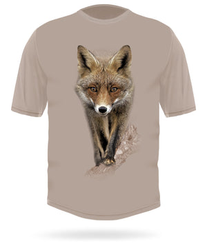 Hillman - Red fox short sleeve camo t-shirt