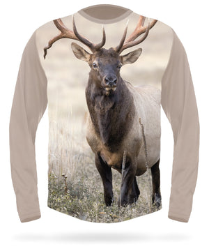 Roosevelt Elk T-shirt Long Sleeve - HILLMAN® hunting gear