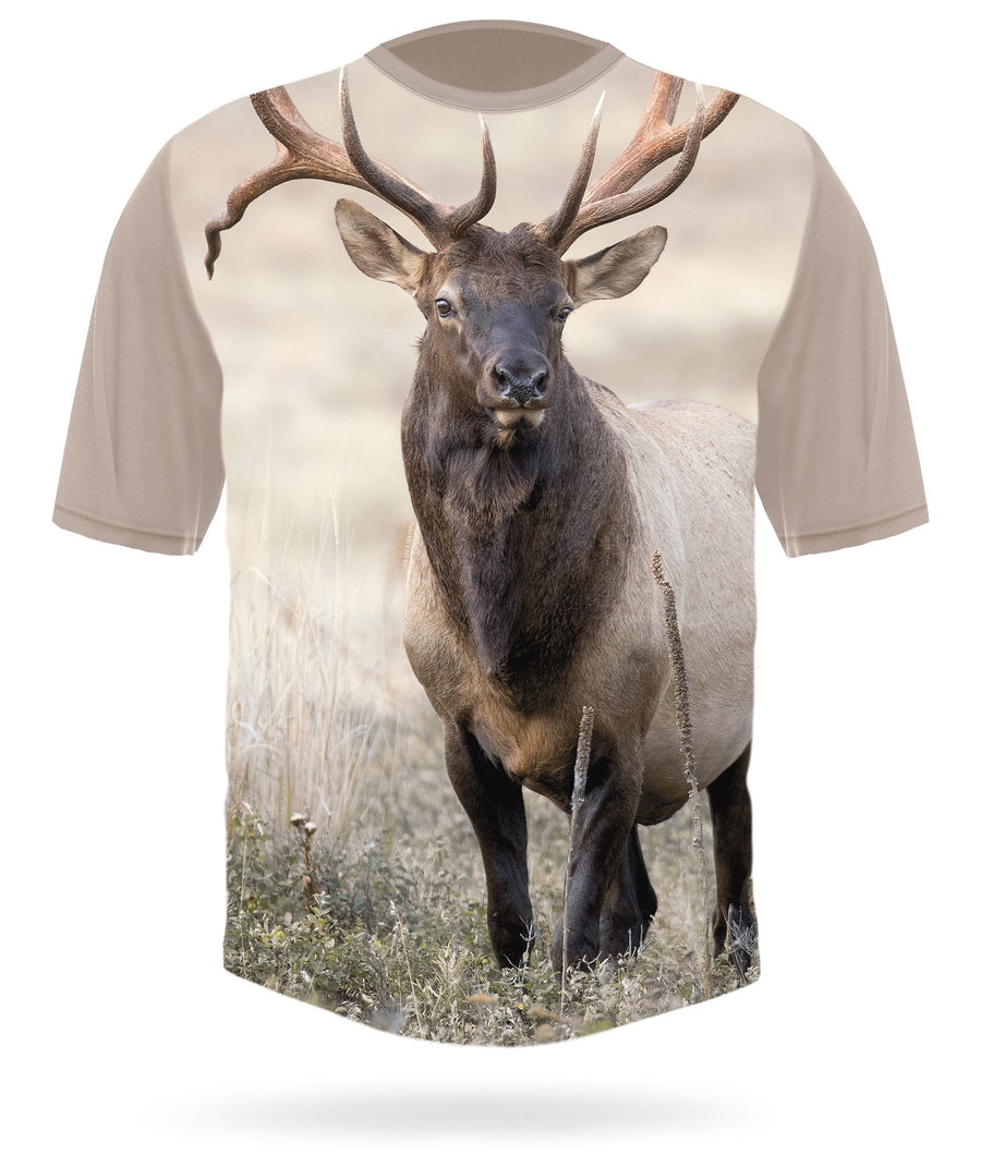 Hillman - Elk field short sleeve custom t-shirt