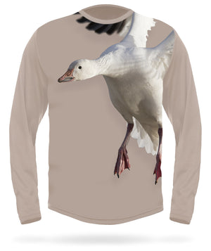 Hillman - Snow Goose long sleeve hunting t-shirt
