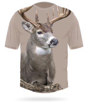 Whitetail Deer Shirt Short Sleeve by HILLMAN®