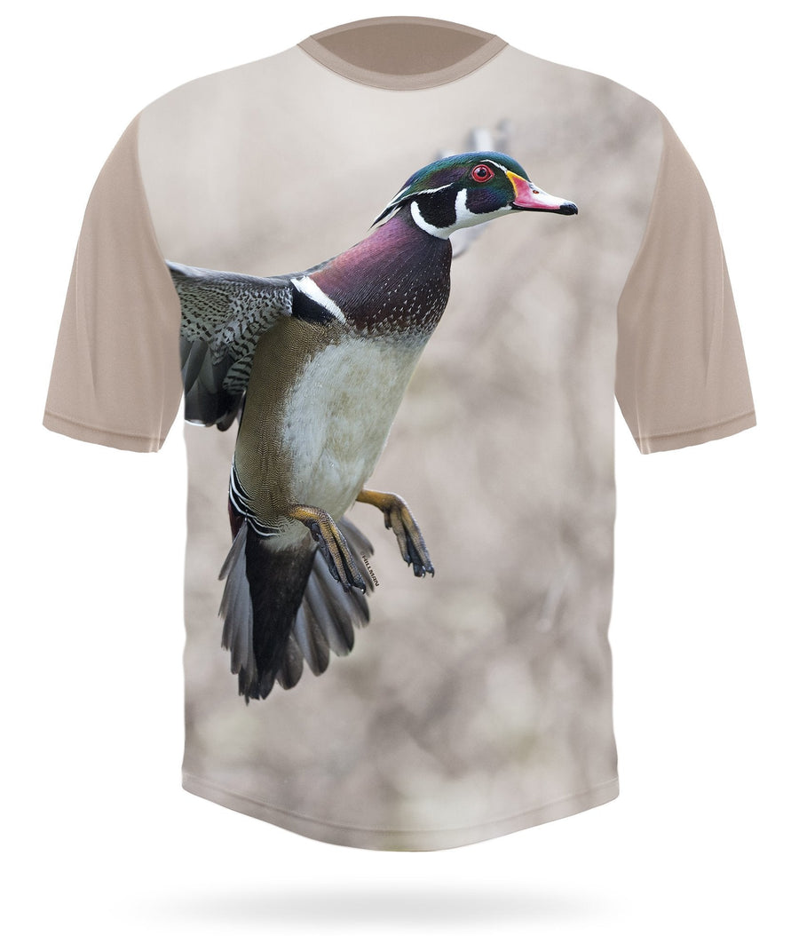 WOOD DUCK Short sleeve T-shirt - HILLMAN hunting gear
