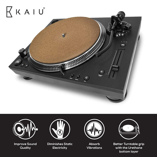Vinyl Record Turntable Slipmat