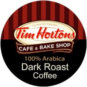 Tim Hortons Dark Roast Single Serve Coffee 24 Pack