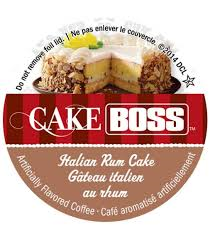Cake Boss Italian Rum Cake Coffee