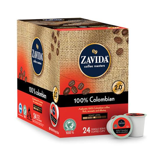 Zavida 100% Colombian Single Serve Coffee