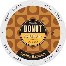 Authentic Donut Shop Vanilla Hazelnut