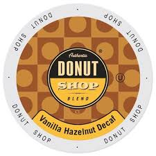 Authentic Donut Shop Vanilla Hazelnut Decaf