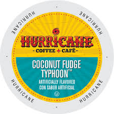 Hurricane Coconut Fudge Typhoon