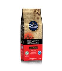 Zavida 12oz 100% Colombian Whole Beans