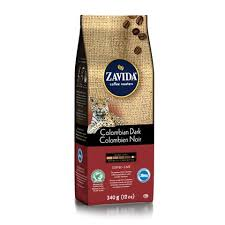 Zavida 12oz Colombian Dark Whole Beans