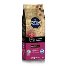 Zavida 12oz Raspberry Chocolate Whole Beans