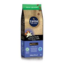 Zavida 12oz Hazelnut Vanilla Whole Beans