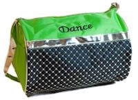 Sliver Sequin Dance Duffle Bag - Lime