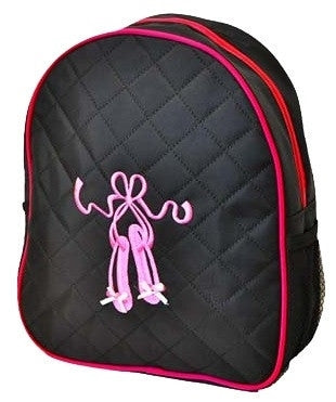 Ballerina Backpack Bag - Black