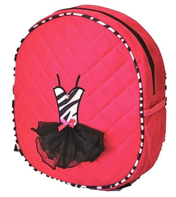 Ballerina Backpack Bag - Fuchsia