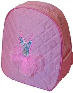 Ballerina Backpack Bag - Pink