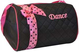 Dance Duffle Bag - Black