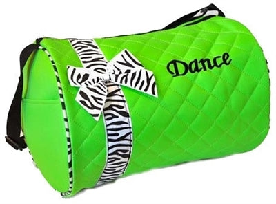 Dance Duffle Bag - Lime