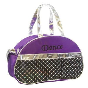 Dance Half Moon Hand Bag - Purple