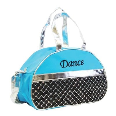 Dance Half Moon Hand Bag - Turquoise