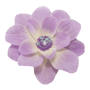 Sequin Middle Flower Clip