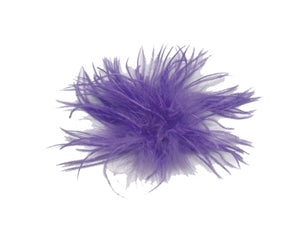 Ostrich Feather Puff Clip