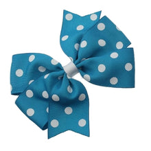 Polka Dot Pinwheel Hairbow Large