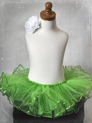 Sequin Tutu - Apple Green