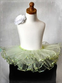 Sequin Tutu - Lime