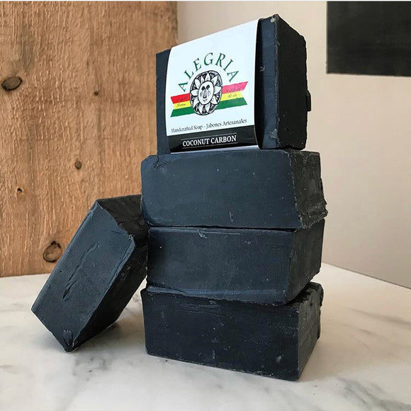 Alegria Charcoal & Tea tree soap