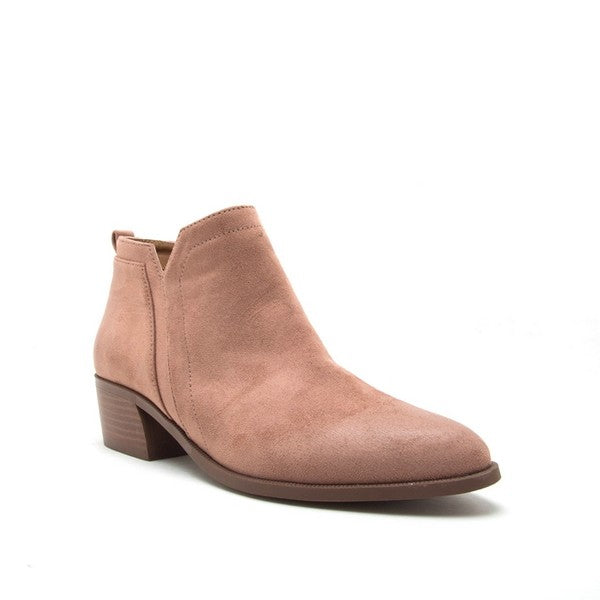 Carefree Ankle Booties - Mayebelle Boutique