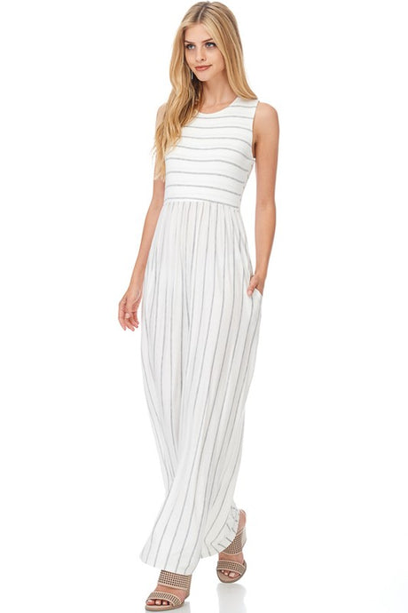 True Beauty Maxi Dress - Mayebelle Boutique