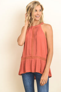 Captivating Pintuck Tunic - Mayebelle Boutique