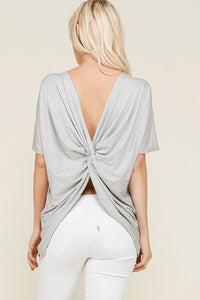 Stunning Back Top - Mayebelle Boutique