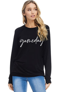 Game Day Sweater - Mayebelle Boutique