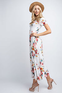Roses Are Red Maxi - Mayebelle Boutique
