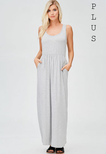 Simply Comfy Maxi Plus Dress - Mayebelle Boutique