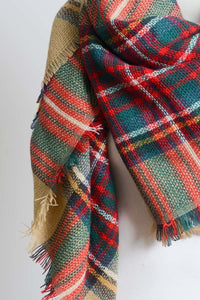 Cozy Christmas Scarf - Mayebelle Boutique