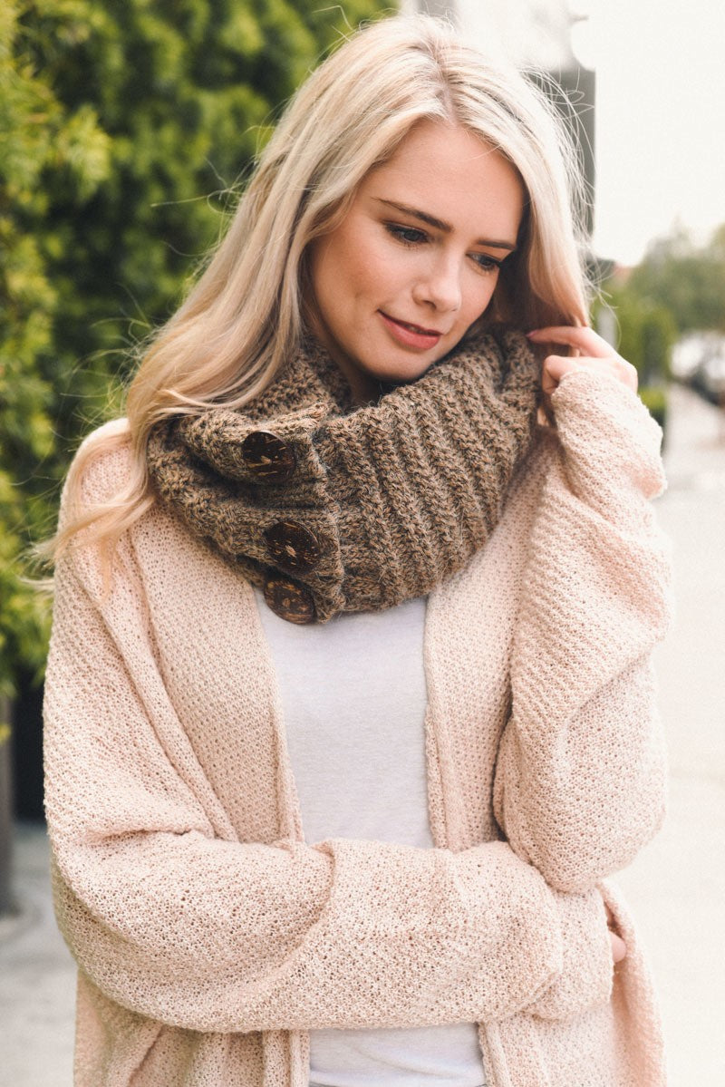 Snuggle Up Infinity Scarf - Mayebelle Boutique
