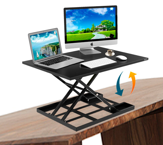 Height Adjustable Standing Desk Converter Ergonomic Sit