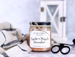 Apple Maple Bourbon | 8 oz. |Homemade | 100% Soy Candle | Gifts | Home Décor