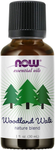 Now Essential Oils, Woodland Walk Oil Blend, Calming Attributes with a Fresh and Woodsy Scent, Steam Distilled, 1-Ounce