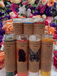 WRITE your intentions Intention Candles | Crystal Candles |Abundance|Money|LOVE| Mental Health | Sex | Confidence |Please Read Description