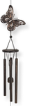 Dawhud Direct Butterfly Outdoor Garden Decor Wind Chime