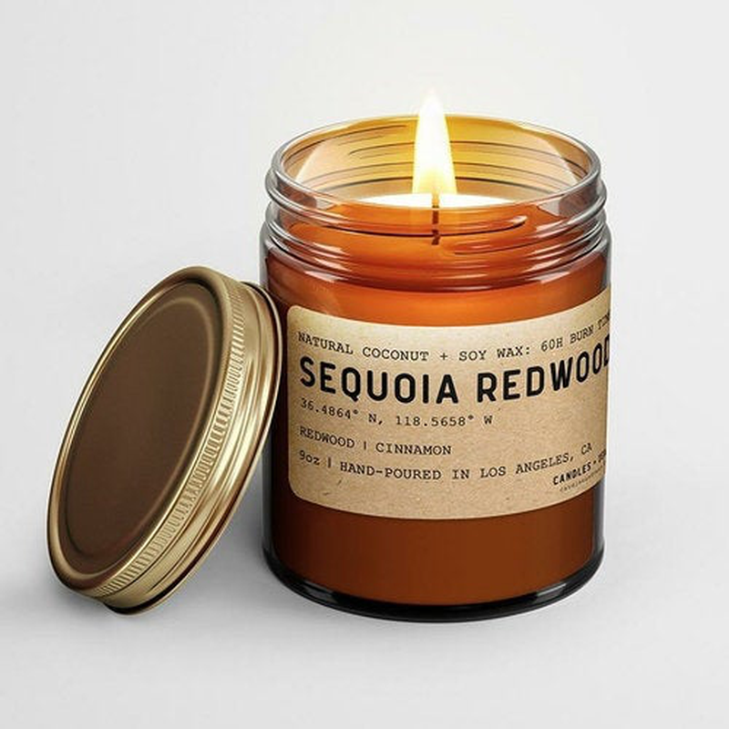 California Scented Soy Candles - Joshua Tree - Sequoia Redwood - Yosemite