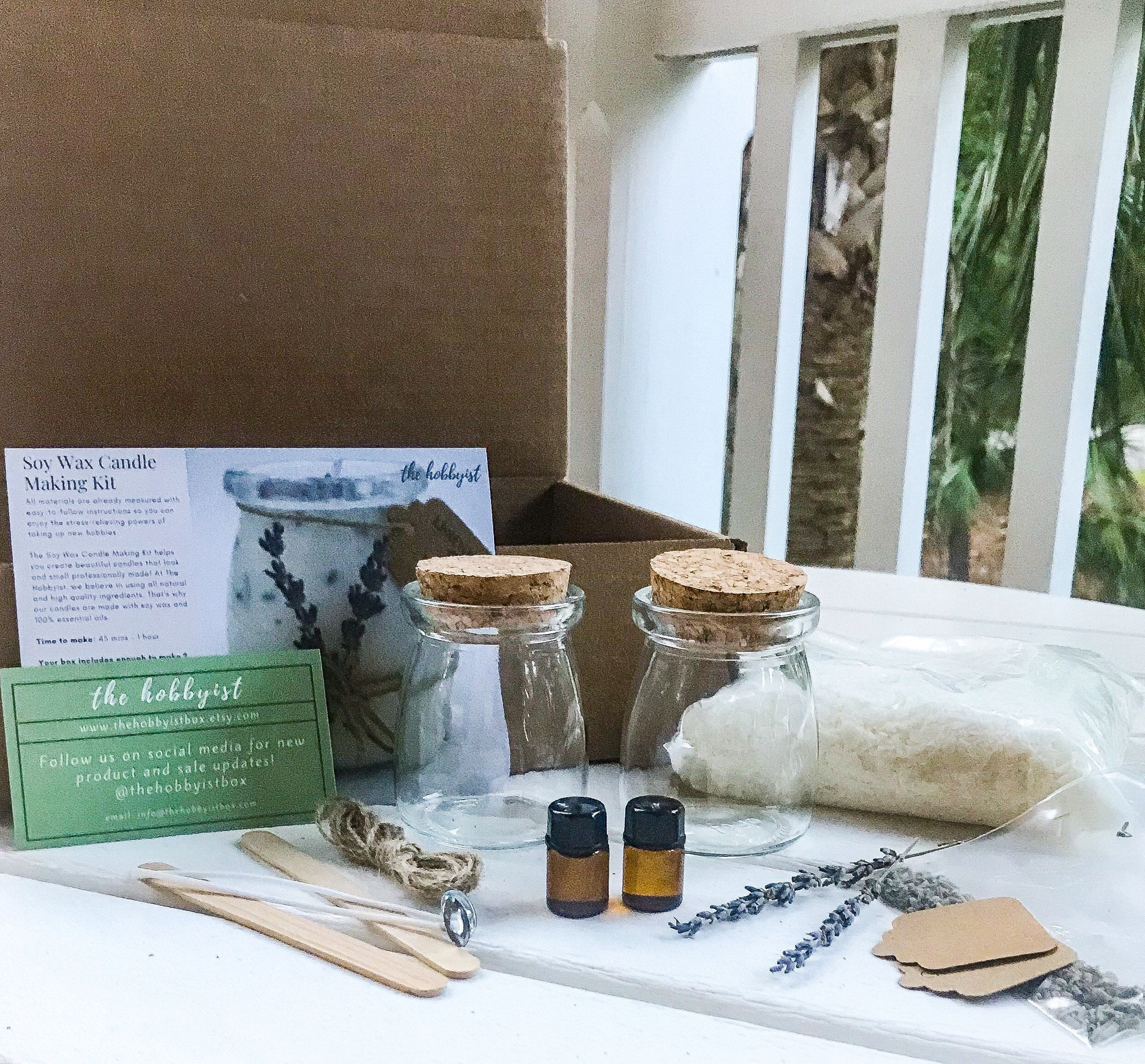 DIY Candle Making Kit for Adults, Easy Candle Making, Soap Making Kit, DIY Kit, Beginner Craft Kit, Quarantine Gift