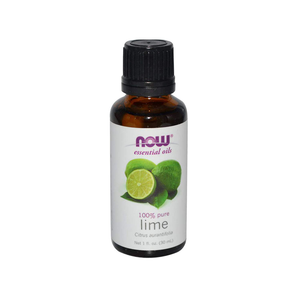 Now Foods Lime Oil - 1 oz - Pack of 3