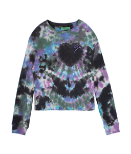 AMETHYST TIE DYE THERMAL LONG SLEEVE