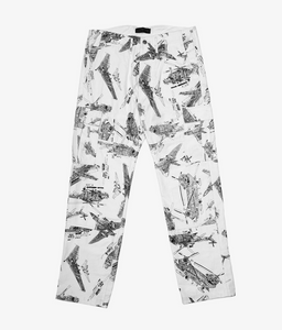 Apache Pants in White